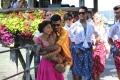 Nazriya Nazim, Dhanush in Naiyaandi Movie Stills