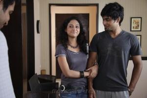 Rupa Manjari, Siddharth Venugopal in Nakili Movie Photos