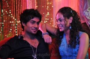 Siddharth Venugopal, Rupa Manjari in Nakili Telugu Movie Photos