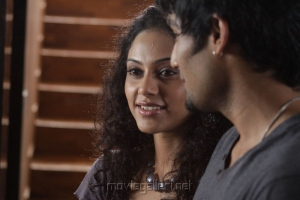 Rupa Manjari, Siddharth Venugopal in Nakili Telugu Movie Stills