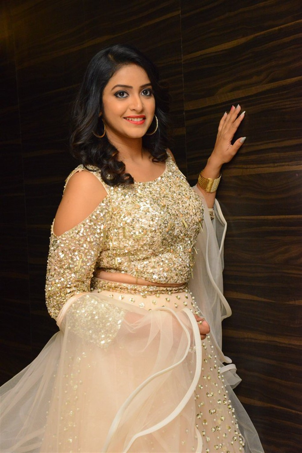 Actress Nakshatra Pictures @ Rajdoot Movie Pre Release
