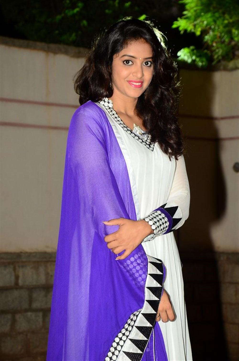 Actress Nakshatra Stills @ Rajdoot Teaser Launch