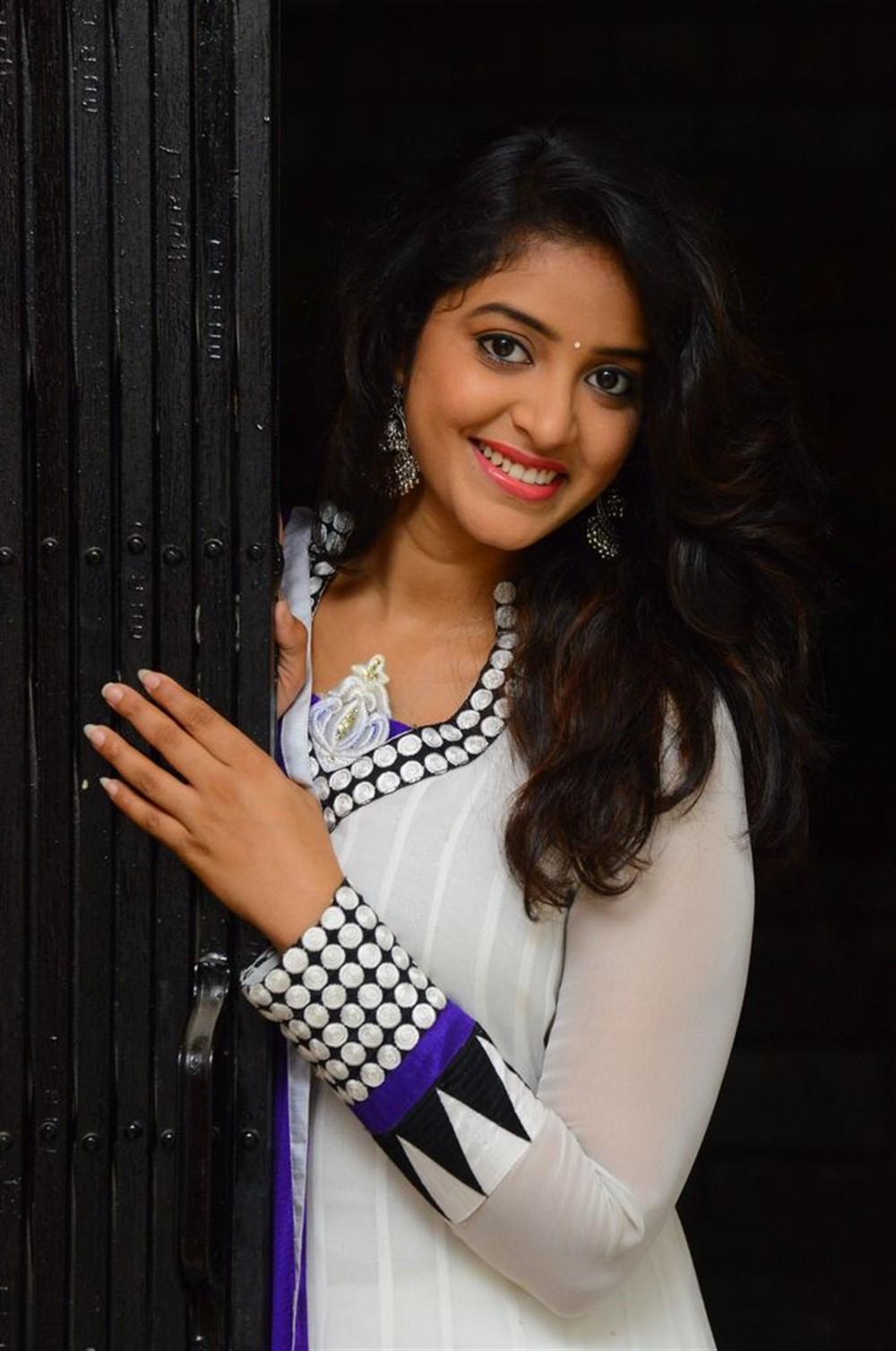 Actress Nakshatra Stills @ Rajdoot Movie Teaser Launch