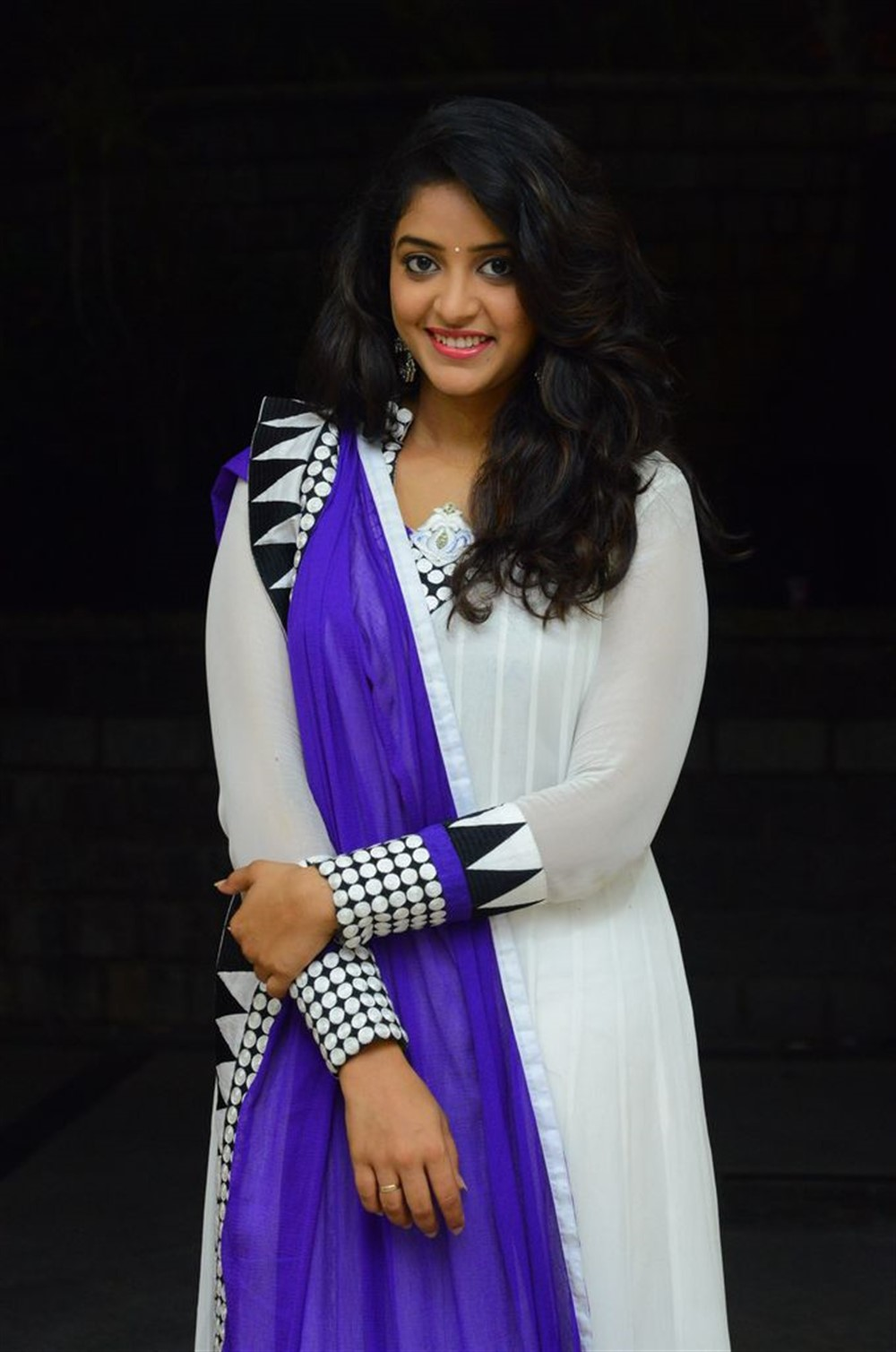 Actress Nakshatra Stills @ Rajdoot Teaser Launch