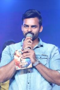 Actor Sai Dharam Tej @ Nakshatram Audio Release Photos