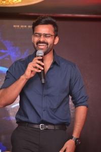 Sai Dharam Tej @ Nakshatram Movie Teaser Launch Stills