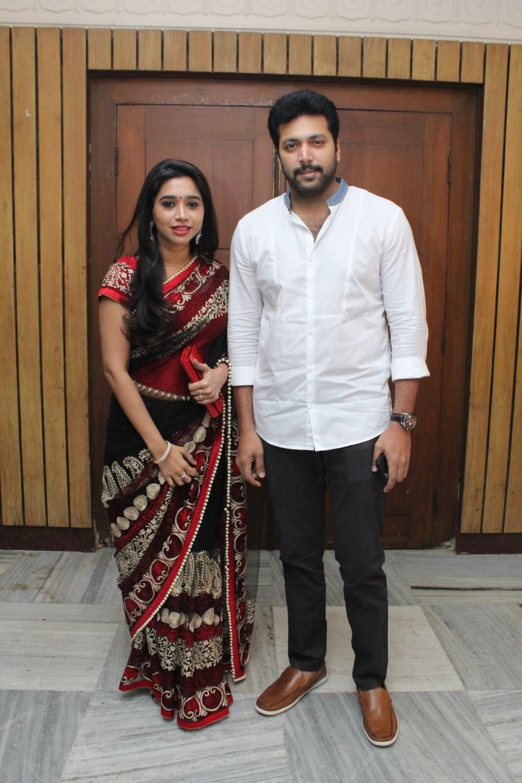 Aarthi Jayam Ravi Nakul Sruti Bhaskar Wedding Reception Stills