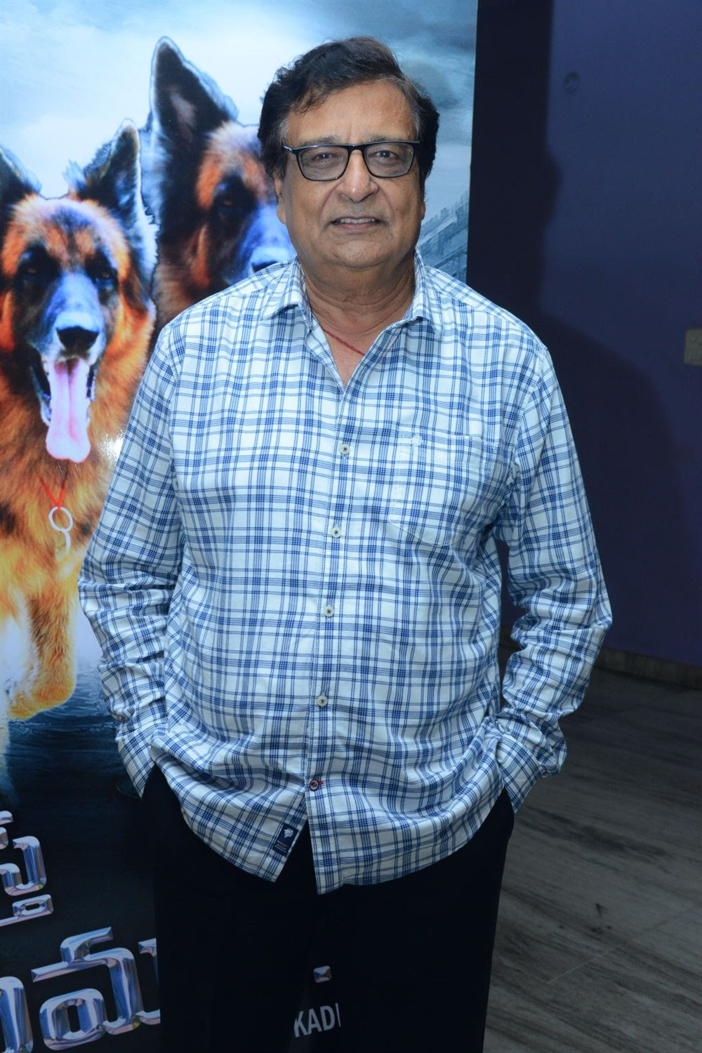 Director KC Bokadia @ Namaste Nestama Movie Trailer Launch Stills