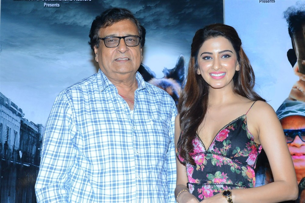 KC Bokadia, Eshanya Maheshwari @ Namaste Nestama Movie Trailer Launch Stills