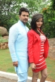 Raja, Gehana Vasisth at Namaste Telugu Movie Opening Stills