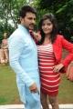 Raja, Gehna Vashisht at Namaste Telugu Movie Opening Stills