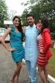 Shweta Jadhav, Raja, Gehna Vashisht @ Namaste Telugu Movie Opening Stills