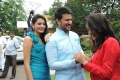 Shweta Jadhav, Raja, Gehana Vasisth @ Namaste Telugu Movie Opening Stills