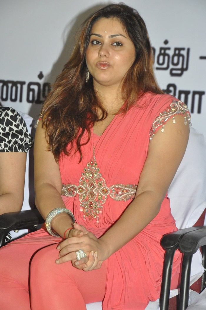 Tamil Actress Namitha at Akilan Audio Launch [ Gallery View ]