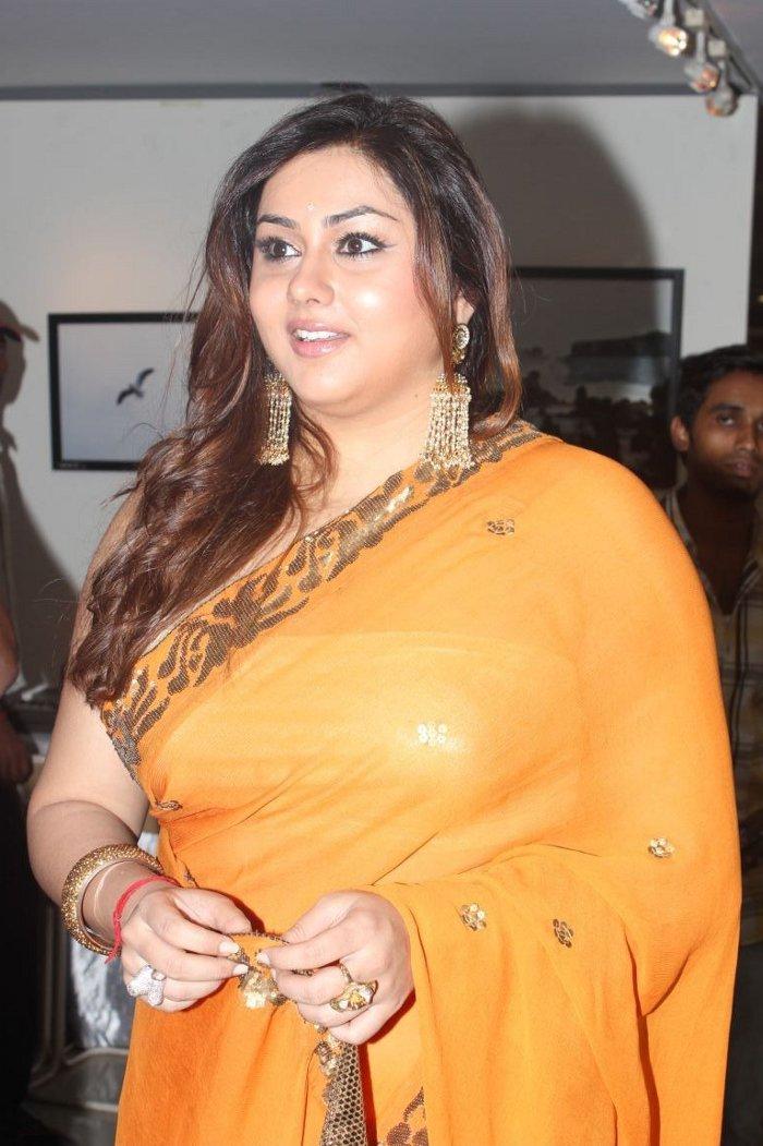 Actress Namitha at Dr Batra's Annual Charity Photo Exhibition