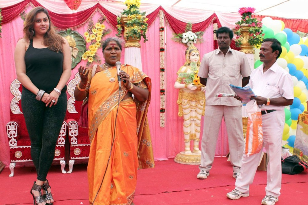 Picture 281151 : Namitha at JS Paradise Marriage Hall ...