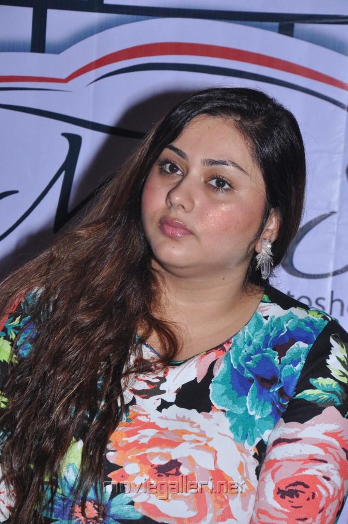 Namitha Hot Pics at Moto Show Launch