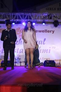 Actress Namitha Pics at Avadi Sumangali Jewellery Anniversary