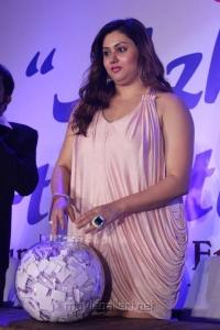 Actress Namitha Hot Pics at Sumangali Jewellery Lucky Draw Bumper Prizes