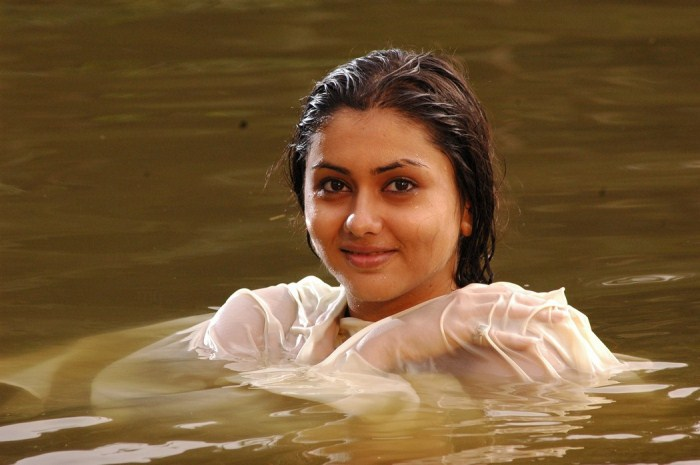 Namitha Hot Wet Pics in Pachi Mirapakaya [ Gallery View ]