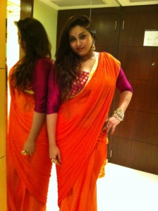 Tamil Actress Namitha met her fans in Aircel Meet Photos