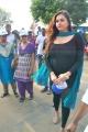 Actress Namitha flags off Sankara Nethralaya Walk for Vision 2013