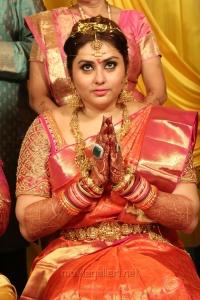 Tamil Actress Namitha Marriage Photos