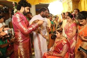 Actress Namitha Veera Wedding Photos