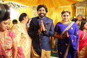 Actress Namitha Veera Marriage Photos