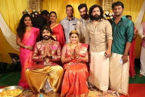 Tamil Actress Namitha Veera Marriage Photos