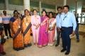 Namma Chennai Airport Turns Pink PINKTOBER 2019 Breast Cancer Free India Event Photos