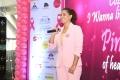 Actress Varalaxmi Sarathkumar @ Namma Chennai Airport Turns Pink PINKTOBER 2019 Event Photos