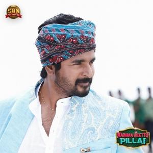 Actor Sivakarthikeyan in Namma Veettu Pillai Movie Stills