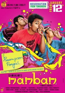 Nanban Movie Release Posters