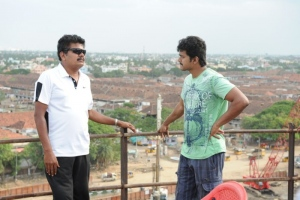 Shankar, Vijay @ Nanban Tamil Movie Shooting Spot Stills