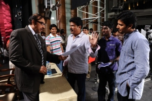 Shankar, Sathyaraj @ Nanban Tamil Movie Shooting Spot Stills