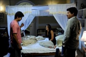 Shankar, Vijay, Ileana @ Nanban Tamil Movie Shooting Spot Stills