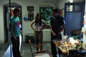 Shankar, Vijay, Ileana @Nanban Tamil Movie Shooting Spot Stills