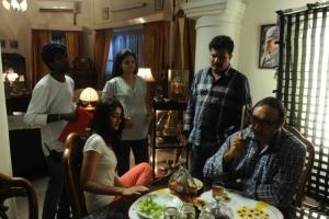 Shankar, Ileana, Sathyaraj, Anuya @ Nanban Tamil Movie Shooting Spot Stills