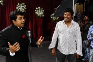 Shankar, Sathyan @ Nanban Tamil Movie Shooting Spot Stills