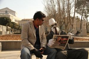 Director Shankar at Nanban On Location Stills