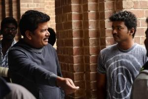 Vijay, Shankar at Nanban On Location Stills
