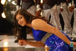 Meghana Raj Hot Saree in Nanda Nanditha Movie Stills