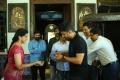 Meena Kumari @ Nandamuri Kalyan Ram Birthday Celebrations @ MLA Movie Sets
