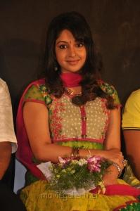 Actress Mithra Kurian at Nandanam Movie Audio Launch Stills