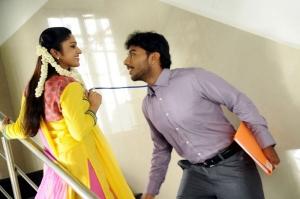 Mithra Kurian, Sivaji Dev in Nandanam Movie Stills