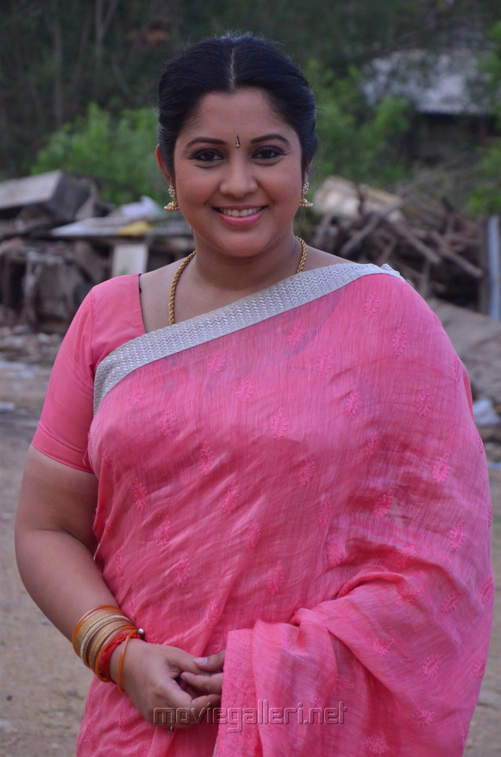 Actress Vijayalakshmi @ Tv Serial Nandini Press Meet Stills