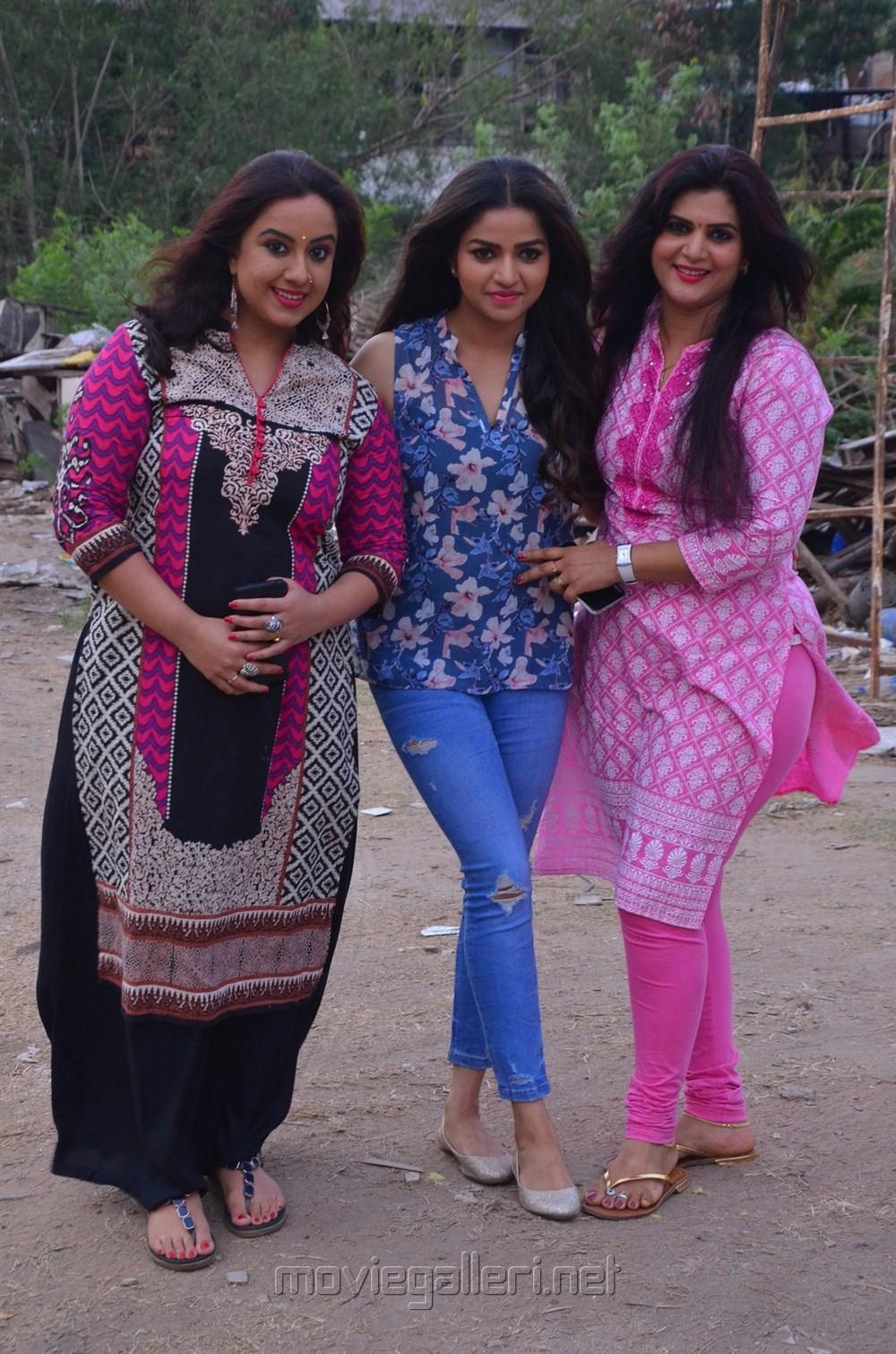 Tv Serial Nandini Press Meet Stills Nandhini Actress Nithya Ram
