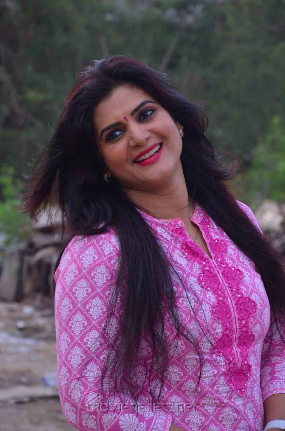 Nithya Ram, Malavika Wales @ Tv Serial Nandini Press Meet Stills