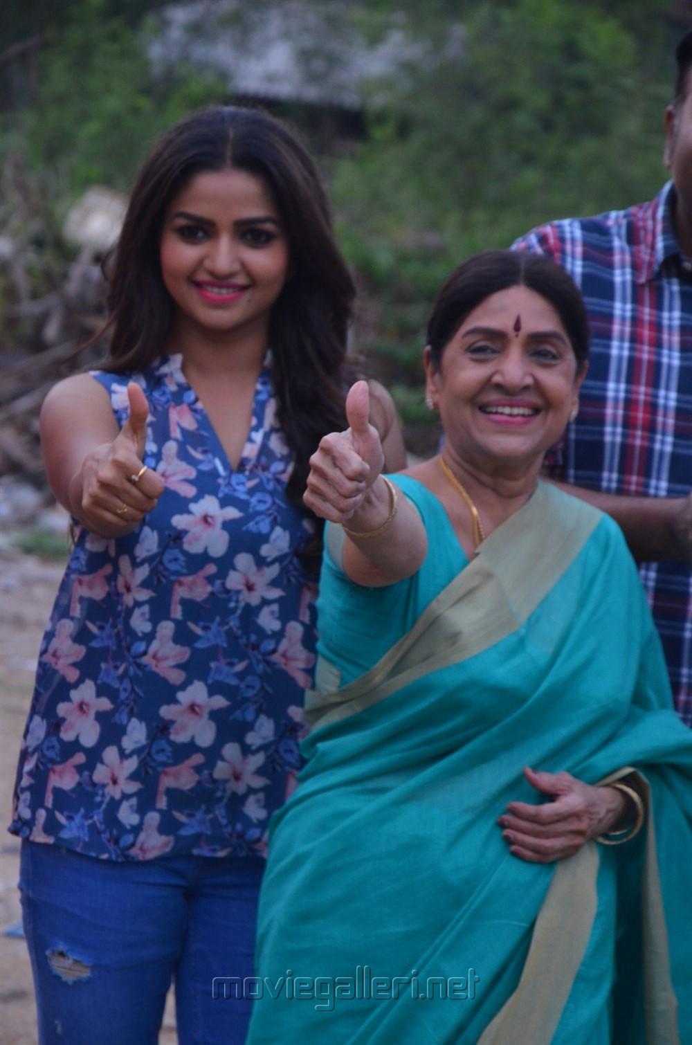 Nithya Ram, Sachu @ Tv Serial Nandini Press Meet Stills
